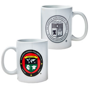 SET OF TWO (2) SHH/AATSP COFFEE MUGS - 11 OZ